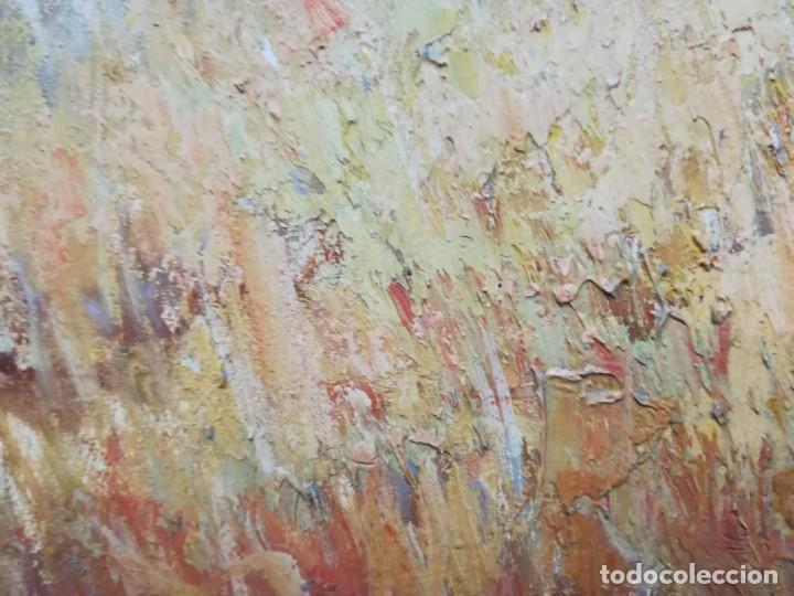 Arte: PAISAJE DE ENCINAS EN VERANO POR EL GENIAL M.PEIDRO - Foto 7 - 134116930