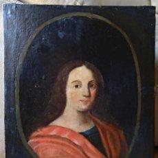 Arte: ANTIGUA PINTURA ALTA EPOCA , RETRATO DAMA DEL SIGLO 17 , OLEO SOBRE LIENZO . Lote 134119766