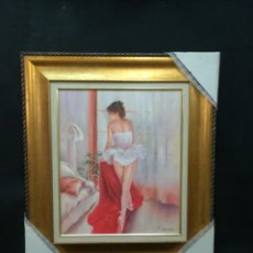 Arte: BAILARINA POR S.CARBONELL. Lote 134119838