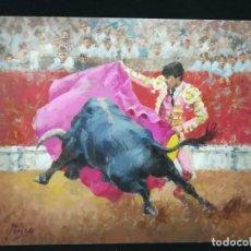 Arte: PASE DE VERONICA POR PERIÑAS. Lote 134123158