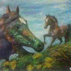 Arte: LA LIBERTAD DEL RECUERDO (CUADRO ORIGINAL). Lote 134138863