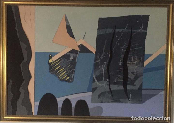 ALTEA -MILLION MILES AWAY 1981 (Arte - Pintura - Pintura al Óleo Moderna sin fecha definida)