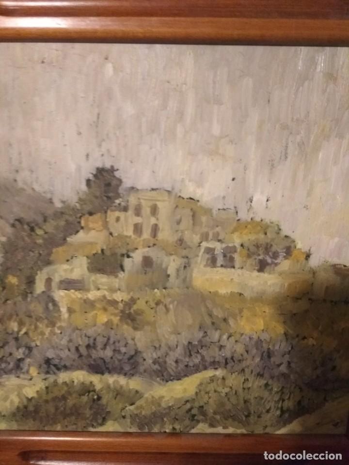 BONITA OBRA SOBRE TABLA (Arte - Pintura - Pintura al Óleo Moderna siglo XIX)