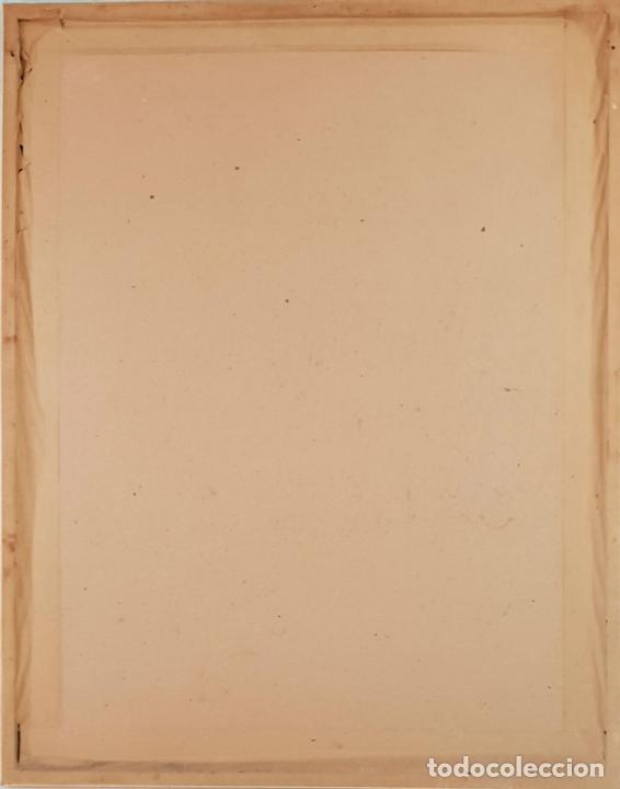 Arte: RETRATO DE FLAMENCA. ÓLEO SOBRE TABLA. ANGEL DE LUNA. 1992. - Foto 2 - 134532934