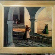 Arte: LLUIS BONADA BERENGUER. PINTOR NACIDO EN SABADELL EN 1908. ( PAYESES IBICENCOS) IBIZA.. Lote 134718543