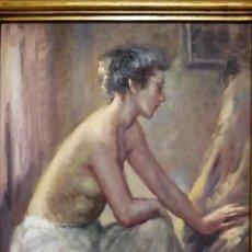 Arte: PINTURA ORIGINAL OLEO SOBRE LIENZO FIRMADO - ROSER VINARDELL TOLRÀ (1941) - 68X78 CMT RECOGIDA LOCAL. Lote 131336382