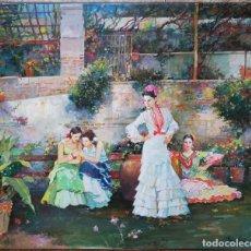 Arte: PINTURA ORIGINAL OLEO SOBRE LIENZO FIRMADO - JOSEP MARIA MIRALLES - 54X45 CMTS. Lote 95004619