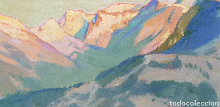 Arte: Ernst Hodel (Lucerne 1881-1955) preciosa pintura firmada. - Foto 4 - 134823655