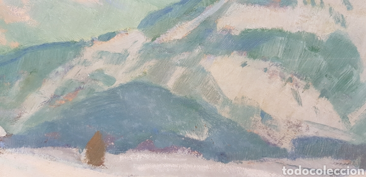 Arte: Ernst Hodel (Lucerne 1881-1955) preciosa pintura firmada. - Foto 5 - 134823655