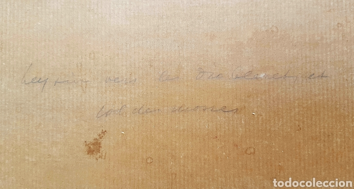 Arte: Ernst Hodel (Lucerne 1881-1955) preciosa pintura firmada. - Foto 6 - 134823655
