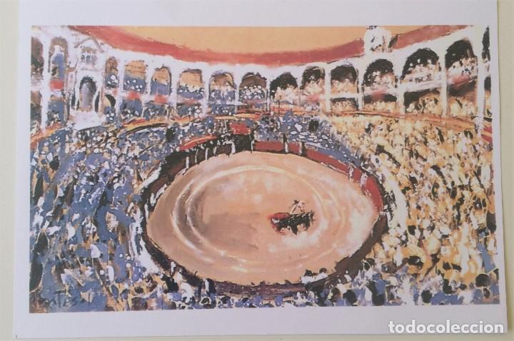 CUADRO DE MONTESOL SOL Y SOMBRA SAN ISIDRO. OST. AÑOS 90. (Arte - Pintura - Pintura al Óleo Contemporánea )