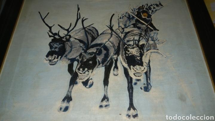 Arte: Pintura al oleo sobre lienzo firmada por antonio gallardo. - Foto 3 - 134955009