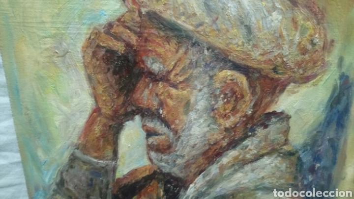 Arte: Retrato (hombre bajo la sombra) - Foto 2 - 134961063