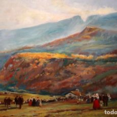 Arte: ANONIMO DE APROXIMADAMENTE AÑOS 40. OLEO SOBRE TELA. UN APLEC. Lote 135012834