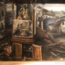 Arte: CUADRO AL OLEO DEL PINTOR VALENCIANO JUAN RIBERA BRENGUER. Lote 135044526