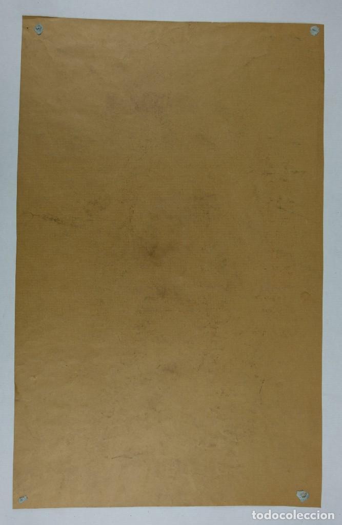 Arte: Carboncillo y pastel Desnudo femenino años 80 - Foto 12 - 135049506