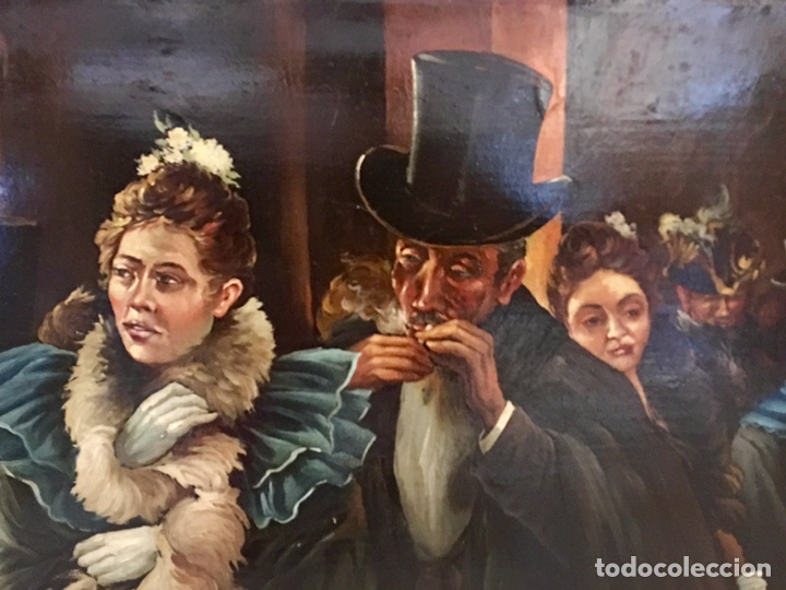 Arte: OLEO SOBRE TABLA FIRMADO A.RODRIGUEZ - Foto 7 - 133999786