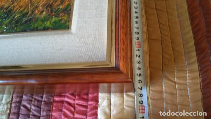 Arte: Pintura oleo sobre lienzo PERE COLLDECARRERA PLA DE POLITJES GARROTXA OLOT - Foto 5 - 135239606