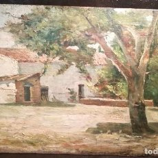 Arte: PAISAJE RURAL POR F.THOMAS 1889. Lote 135314350