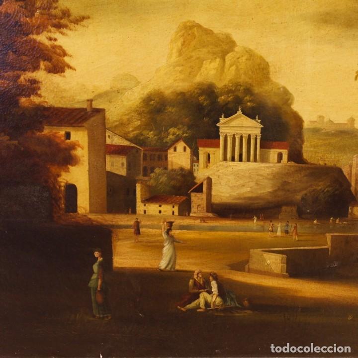 Arte: Pintura al óleo sobre lienzo con paisaje del siglo XX - Foto 2 - 135343106