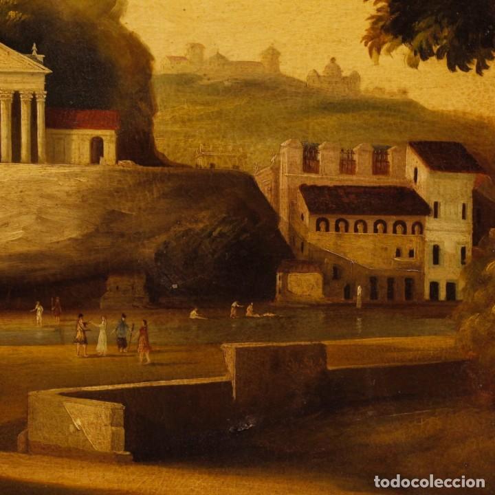 Arte: Pintura al óleo sobre lienzo con paisaje del siglo XX - Foto 5 - 135343106
