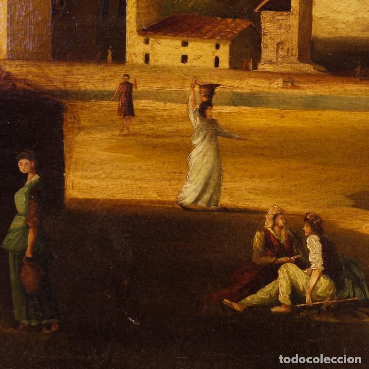 Arte: Pintura al óleo sobre lienzo con paisaje del siglo XX - Foto 6 - 135343106
