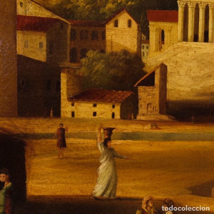 Arte: Pintura al óleo sobre lienzo con paisaje del siglo XX - Foto 9 - 135343106