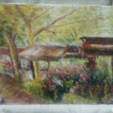Arte: PUESTOS EN PLENO ATARDECER. Lote 135473999
