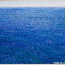 Arte: ANTONI PUIG - OLEO SOBRE LIENZO -VENT DEL NE - 1999. Lote 135516230