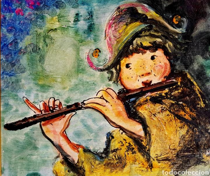 CHE DURAN (BUENOS AIRES 1925-TORREMOLINOS 2008) PRECIOSA PINTURA FIRMADA AÑOS 70. (Arte - Pintura - Pintura al Óleo Contemporánea )