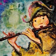 Arte: CHE DURAN (BUENOS AIRES 1925-TORREMOLINOS 2008) PRECIOSA PINTURA FIRMADA AÑOS 70.. Lote 135581589