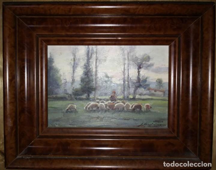 Arte: OLIVET LEGARES. Oleo firmado, 1934 - Foto 2 - 135588198