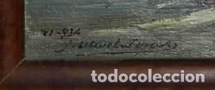 Arte: OLIVET LEGARES. Pintura al oleo firmada. 1934 - Foto 3 - 135588382