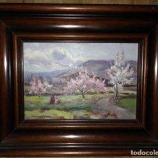 Arte: OLIVET LEGARES FIRMADO 1934 INCLUYE MARCO. Lote 135588494