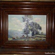 Arte: OLIVET LEGARES FIRMADO 1934 INCLUYE MARCO. Lote 135588738