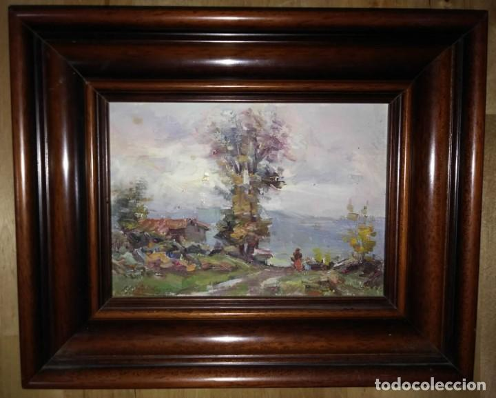 OLIVET LEGARES FIRMADO 1934 INCLUYE MARCO (Arte - Pintura - Pintura al Óleo Contemporánea )