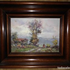 Arte: OLIVET LEGARES FIRMADO 1934 INCLUYE MARCO. Lote 135588910