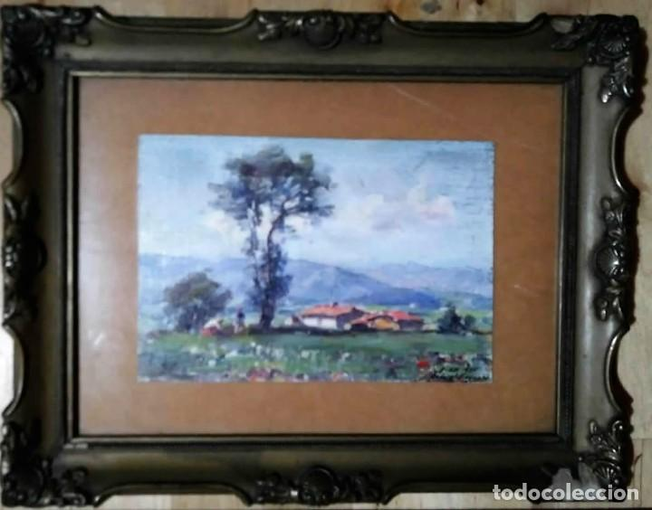 Arte: Olivet Legares. Oleo firmado 1934 - Foto 2 - 135589614
