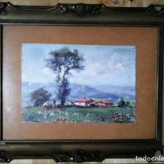 Arte: OLIVET LEGARES FIRMADO 1934 INCLUYE MARCO. Lote 135589614