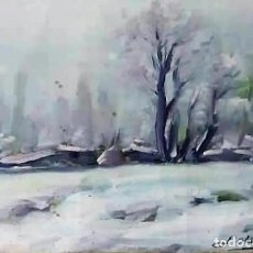 Arte: OLIVET LEGARES FIRMADO 1934 INCLUYE MARCO. Lote 135589906