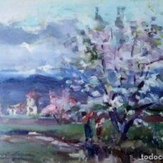 Arte: OLIVET LEGARES FIRMADO 1934 INCLUYE MARCO. Lote 135589938