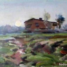 Arte: OLIVET LEGARES FIRMADO 1934 INCLUYE MARCO. Lote 135590014