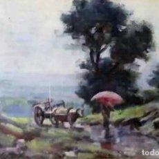 Arte: OLIVET LEGARES FIRMADO 1934 INCLUYE MARCO. Lote 135590102