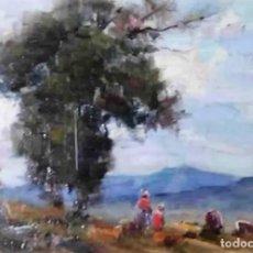Arte: OLIVET LEGARES FIRMADO 1934 INCLUYE MARCO. Lote 135590174