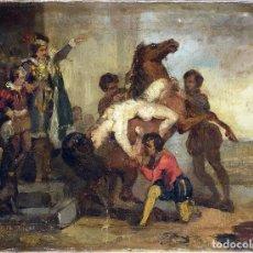 Arte: IMPORTANTE BOCETO, FINALES S. XVIII. Lote 135671563