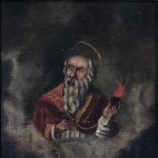 Arte: OLEO ANTIGUO Y RARO DE SAN AGUSTÍN DE HIPONA. Lote 135815298