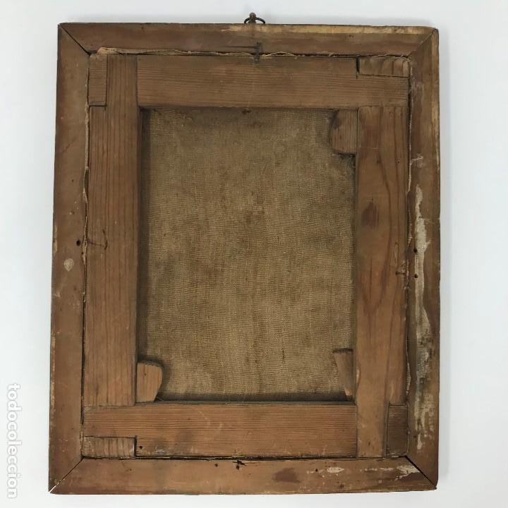 Arte: Oleo antiguo y raro de San Agustín de Hipona - Foto 16 - 135815298