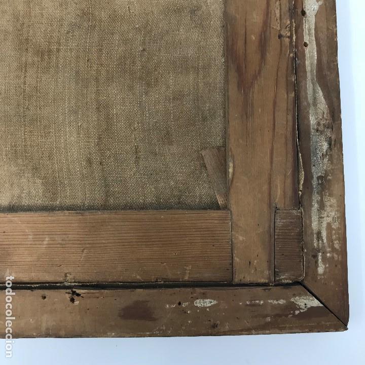 Arte: Oleo antiguo y raro de San Agustín de Hipona - Foto 18 - 135815298