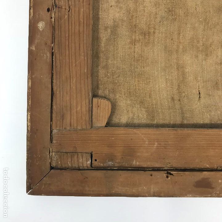 Arte: Oleo antiguo y raro de San Agustín de Hipona - Foto 19 - 135815298