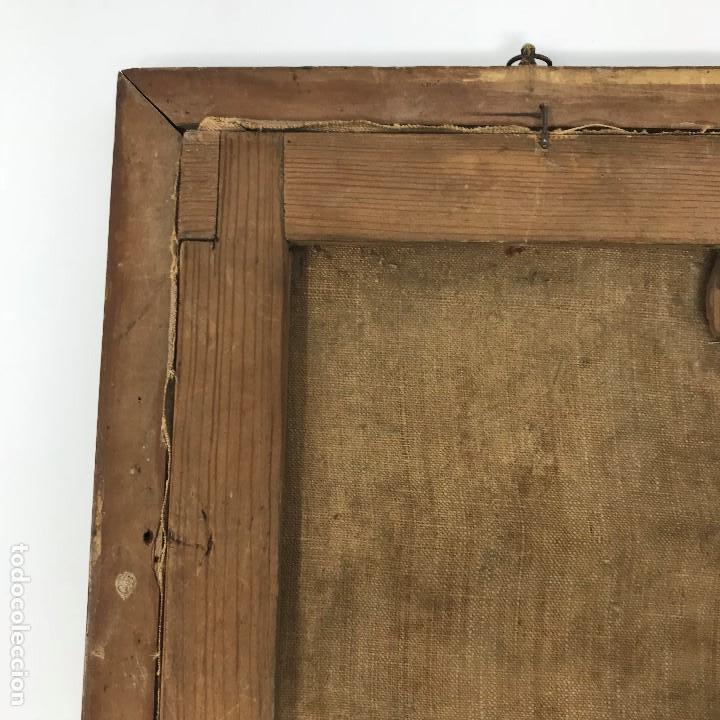 Arte: Oleo antiguo y raro de San Agustín de Hipona - Foto 20 - 135815298
